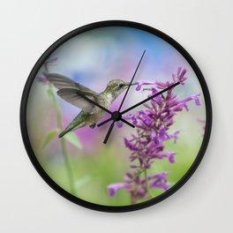 Garden Friend Wall Clock