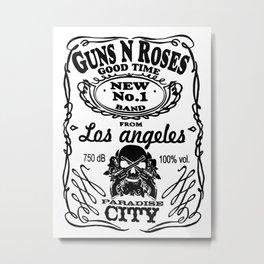 Guns n Roses Metal Print