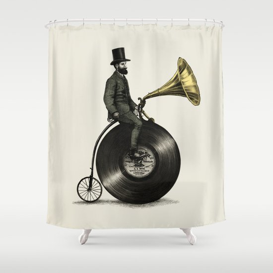 Music Man Shower Curtain