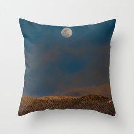 Colorado Moonrise Throw Pillow