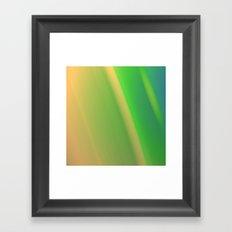 Soft Spoken Framed Art Print