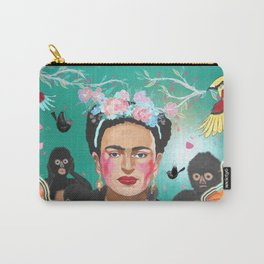 Frida Mural Painting Carry-All Pouch