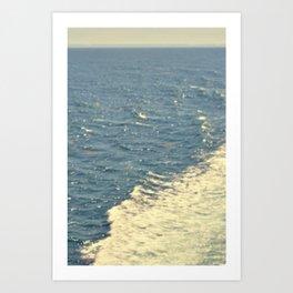 Sea Adventure - Ocean Crossing II Art Print