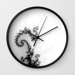 detail on mandelbrot set - pseudopod Wall Clock
