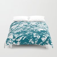 stone Duvet Covers featuring Stone by mangulica illustrations
