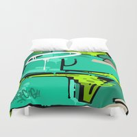 spain Duvet Covers featuring SPAIN by clogtwo