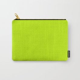 Bitter Lime Green Carry-All Pouch