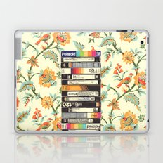VHS & Entry Hall Wallpaper Laptop & iPad Skin