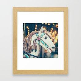 Pastel Horse II Framed Art Print