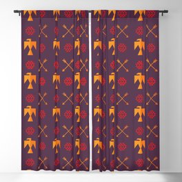 Indian Designs 34 Blackout Curtain