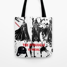 CONFLICT AND STRUGGLE Tote Bag