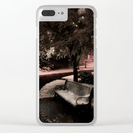 Trail to Light Clear iPhone Case