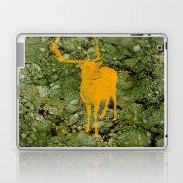 Deer on Green Camo Laptop & iPad Skin