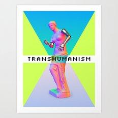 Maquinus Transhumanism ENG Art Print