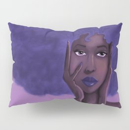 Afro Blu Pillow Sham
