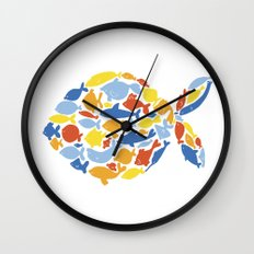 fish of fishes Wall Clock