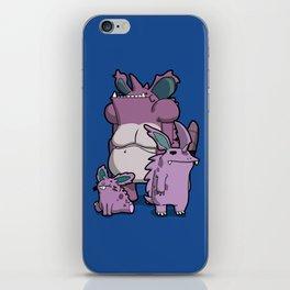 Pokémon - Number 32, 33 & 34 iPhone Skin