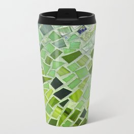 New Growth Mosaic Metal Travel Mug