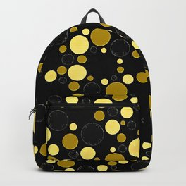 Golden circlesGolden circles Backpack
