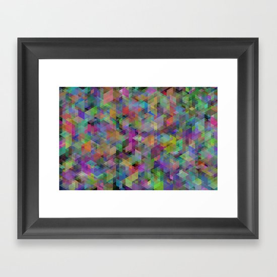 Panelscape - #11 society6 custom generation Framed Art Print
