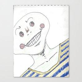 frogman Canvas Print