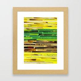 Solar Plexus//Heart Chakra Framed Art Print
