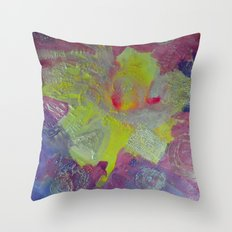 Consistency Abstract Throw Pillow