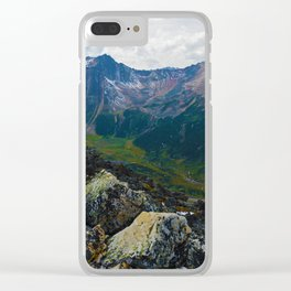 Down in the Valley, Pyramid Mt in Jasper National Park, Canada Clear iPhone Case