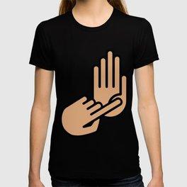 Oakland County Michigan Hand Map T-shirt