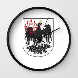 Flag of Buenos Aires Wall Clock