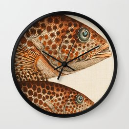Fish Classic Designs 6 Wall Clock