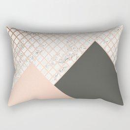 Copper & Marble 06 Rectangular Pillow