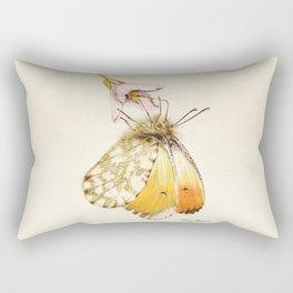 Aurorafalter butterfly Rectangular Pillow