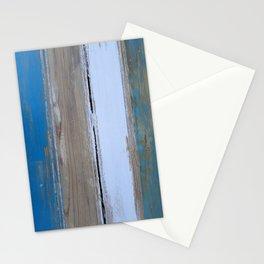 Beach House Decor Stripes 2 Stationery Cards