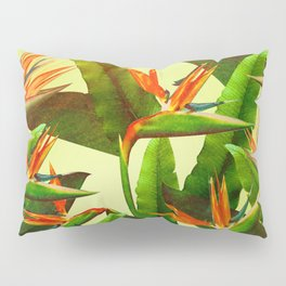 Birds of Paradise Pillow Sham
