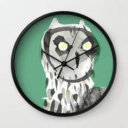 Pueo Wall Clock