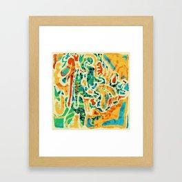 Pattern № 1 Framed Art Print