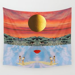 Eyes, lips & dreams Wall Tapestry