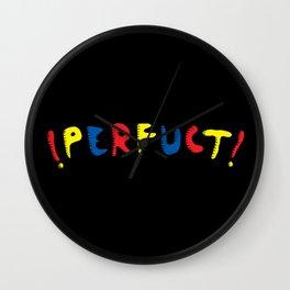 PERFUCT Wall Clock
