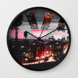RVA Wall Clock