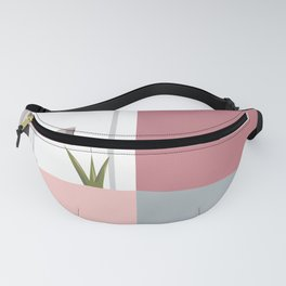 Postcard in pink Fanny Pack