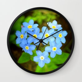 the soul is here for its own joy Wall Clock