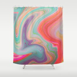 Should Have Taken Acid With You. Shower Curtain