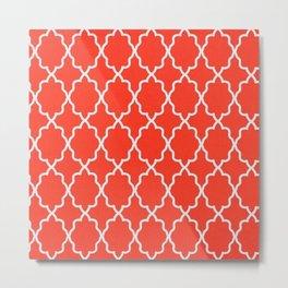 red Design Metal Print