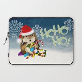 Currier & Bunnies: HO HO HO Laptop Sleeve