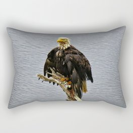 Eagle Drip Dry Rectangular Pillow