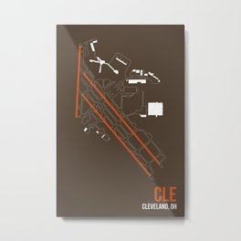 CLE Metal Print
