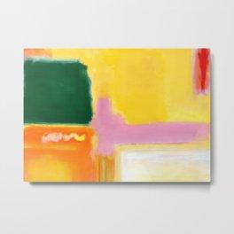 Mark Rothko - No 16 / No 12 (Mauve Intersection) Artwork Metal Print