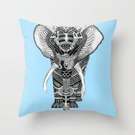 PETITE ELEPHANT. Throw Pillow