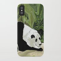 lee pace iPhone & iPod Cases featuring Driving at Panda Pace by Distortion Art